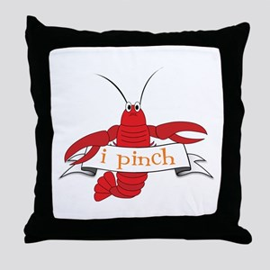 I Pinch Throw Pillow